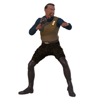 Click to download the 'Klingon (TOS) for the 3D&D Klingon'