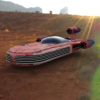 Click to download the 'Landspeeder (for DAZ Studio)'