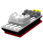 Click to download the 'Brick Boat 1 (for Poser)'