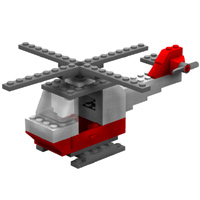 Brick Helicopter image