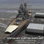 Click to download the 'Add-on Set for USS Maryland'