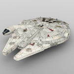 Click to download the 'Millennium Falcon (for DAZ Studio)'