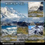 Click to download the 'Mountain Rail Scenery AddOn 1 (for Poser)'