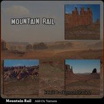 Click to download the 'Mountain Rail Scenery AddOn 2 (for Poser)'