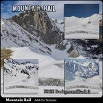 Mountain Rail Scenery AddOn 3 (for Poser)