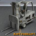 Click to download the 'Navy Forklift (for Poser)'