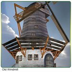Click to download the 'Old Windmill (Poser)'