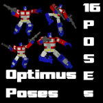 Click to download the 'Optimus Prime Poses'