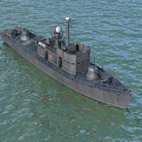 Click to download the 'Patrol Boat (for Poser)'