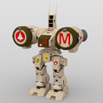 Click to download the 'Phalanx Robot Mech (for DAZ Studio)'