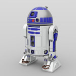 Click to download the 'R2 Astromech Droids (for DAZ Studio)'