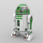 Click to download the 'R3 Astromech Droids (for DAZ Studio)'