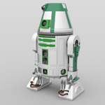 Click to download the 'R4 Astromech Droids (for DAZ Studio)'