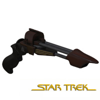 Click to download the 'TMP/TNG Era Klingon Disruptor'