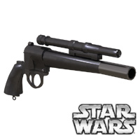 Click to download the 'Boba Fett Blaster retrofit legacy prop'