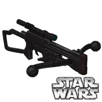Click to download the 'Wookiee Bowcaster retrofitted legacy prop'