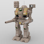 Click to download the 'Tomahawk Mech Robot (for DAZ Studio)'