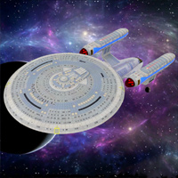 Click to download the 'USS Enterprise 1701-C (for DAZ Studio)'