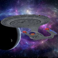 Click to download the 'USS Enterprise 1701-D (for Poser)'