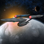 Click to download the 'USS Enterprise (for Poser)'