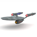 Click to download the 'USS Enterprise (for Vue)'