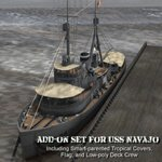 Click to download the 'Add-on Set for USS Navajo'