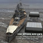 Click to download the 'Add-on Set for USS Nevada'