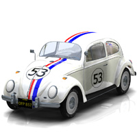 Herbie 'The Love Bug' Texture 'ad image'