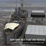 Add-on Set for USS Vestal