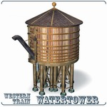 Click to download the 'Watertower (for Poser)'