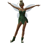 Click to download the 'Dynamic TinkerBell pixie dress for A3,A4'