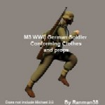 Click to download the 'WWII German Wehrmacht soldier uniform (for M3)'