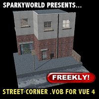 Click to download the 'Street Corner For Vue 4'