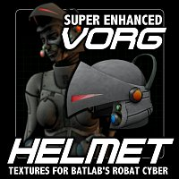 Click to download the 'SE Vorg helmet textures for Batlabs Robat Cyber'