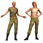 Click to download the 'BDU V3 Texture Set - T-Shirts'