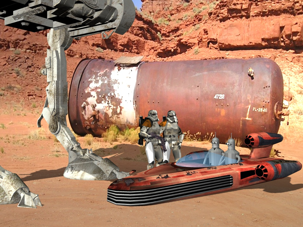 We are not the Droids you are looking for: We are not the droids you are looking for!