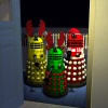 Click to see the full-sized image: 'Caroling Daleks'.