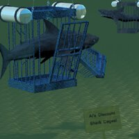 Click to see the full-sized image: 'Discount Shark Cages'.