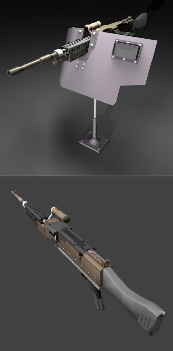M240L: This is the M240L which I`m currently working on. It`s not finished yet, but I couldn`t help but upload it now.