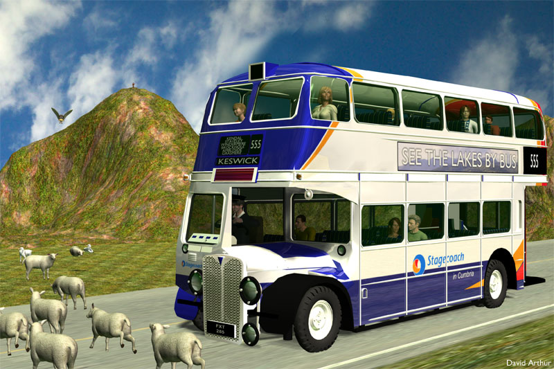 See the Lakes by Bus: The Lake District now has a serious traffic problem, especially in towns and on the main highways, so do your part and visit by public transport - the view is better from the top of a bus anyway!