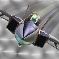 Click to see the full-sized image: 'F-14 on Metal Oil'.