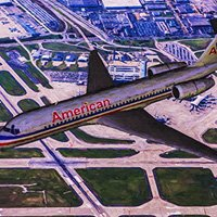 Click to see the full-sized image: 'American Airlines Boeing 717'.