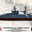 Click to see the full-sized image: 'USS Arizona Profile'.