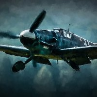 Click to see the full-sized image: 'Messerschmitt Intercept'.