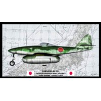 Click to see the full-sized image: 'Nakajima Ki-201 Profile Signed'.