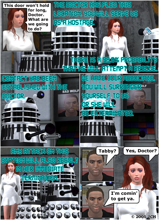 Escape from the Daleks, Part 2: Part 2 of the series.