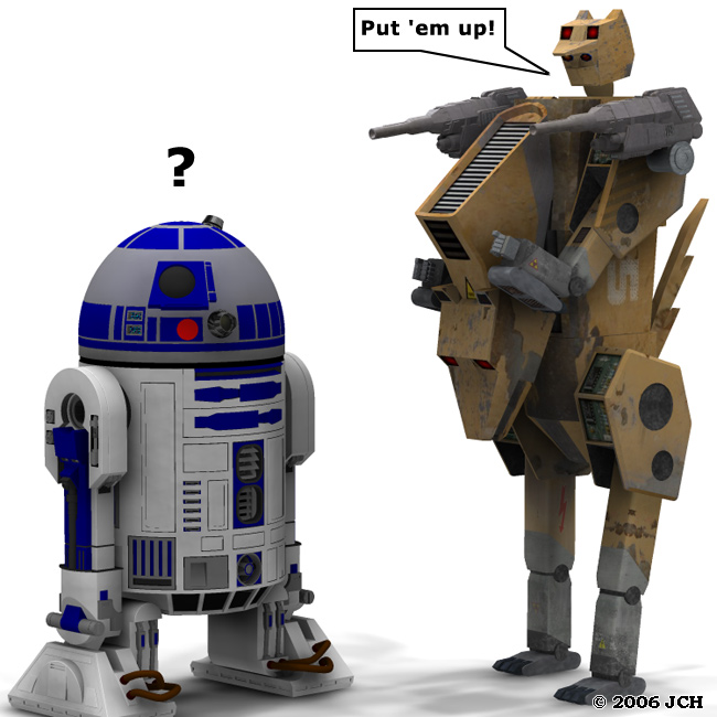 Wanna Fight?: R2 available in the free stuff section, Lycantar available in the marketplace.