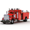 Click to see the full-sized image: 'Peterbilt Fire Truck'.