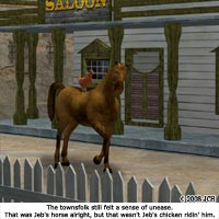 Click to see the full-sized image: 'Jeb`s Horse (humor)'.