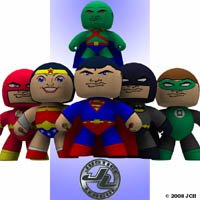 Click to see the full-sized image: 'Justice League Veeples'.